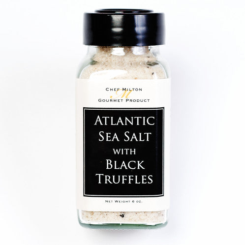 Milton's Gourmet Atlantic Sea Salt w/ Black Truffles