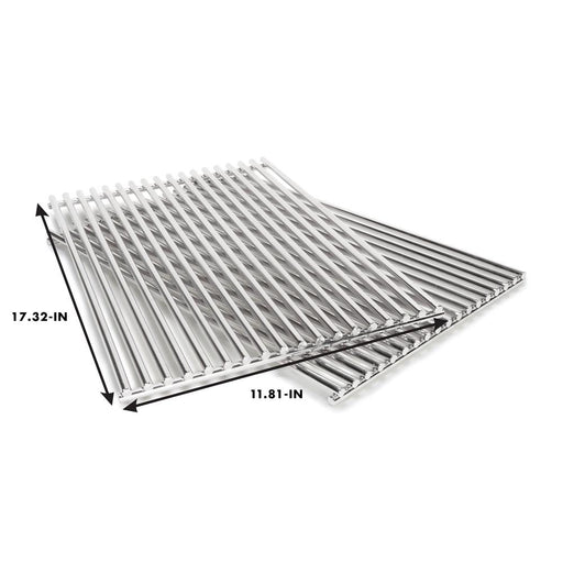 Grill Care Stainless Steel Rod Cooking Grate Set - Premier Grilling