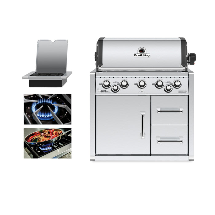 Broil King Imperial 590 Built-In Cabinet - Premier Grilling