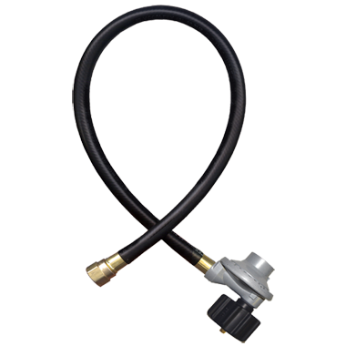 Fairview Fittings 3' Liquid Propane Hose/Regulator Assembly - Premier Grilling