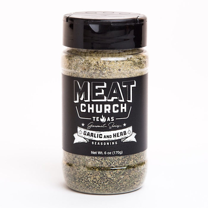 Meat Church Gourmet Garlic & Herb Seasoning - Premier Grilling