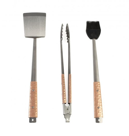 Charcoal Companion Copper Handle 3PC Tool Set