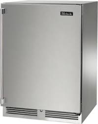 "Perlick 24"" Signature Series Outdoor Refrigerator w/ Stainless Steel Solid Door - Premier Grilling"