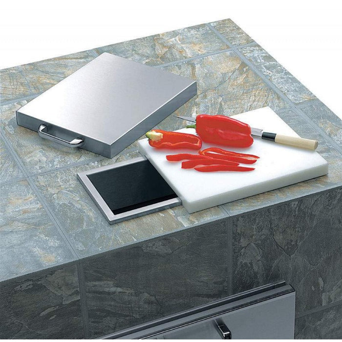 Lynx Countertop Trash Chute w/ Cutting Board & Cover - Premier Grilling