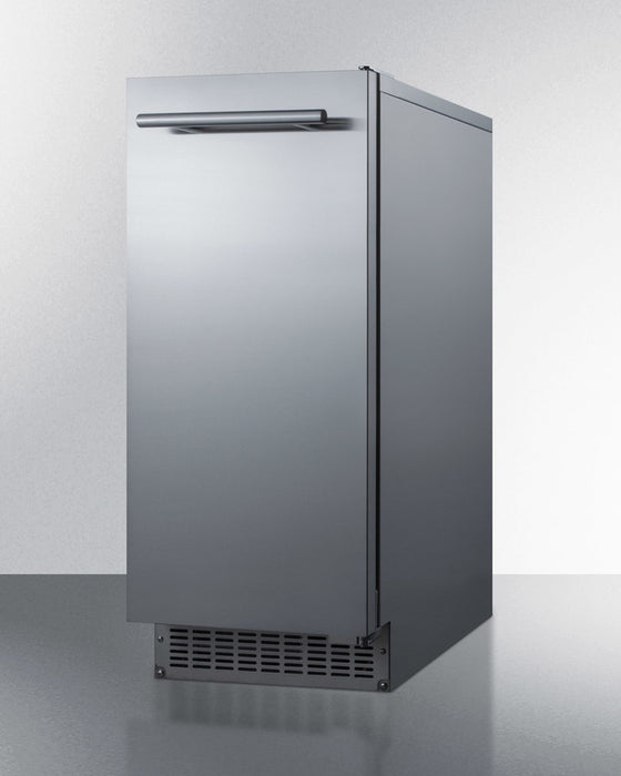 Summit Outdoor Built-In Ice Maker (Left Hinge) - Premier Grilling
