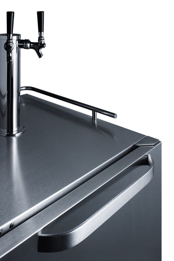 Summit 24in Wide Outdoor Kegerator (Hinge Right)