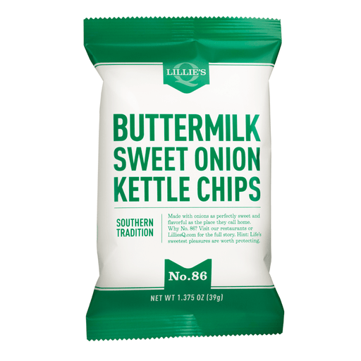 Lillie's Q Buttermilk & Sweet Onion Kettle Chips