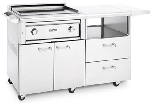 "Lynx 30"" Asado Grill on Mobile Kitchen Cart - Premier Grilling"