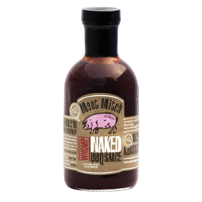 Meat Mitch WHOMP! Naked BBQ Sauce - Premier Grilling