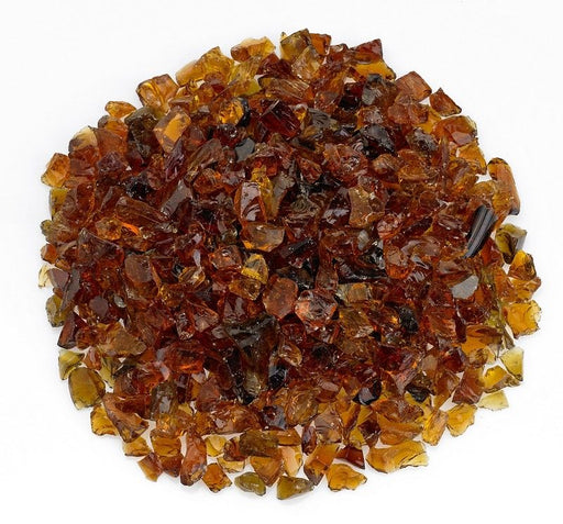 American Fireglass 10-lb Recycled Fire & Pit Glass, Small, Various Colors - Premier Grilling