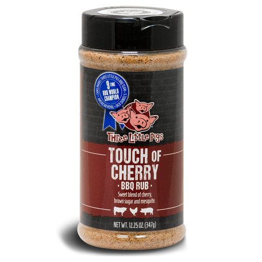 Three Little Pigs Touch of Cherry BBQ Rub - Premier Grilling