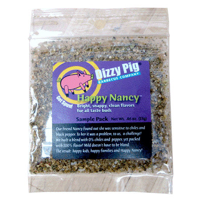 Dizzy Pig Happy Nancy Seasoning (Sample) - Premier Grilling