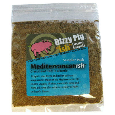 Dizzy Pig Mediterranean-ish Seasoning (Sample)