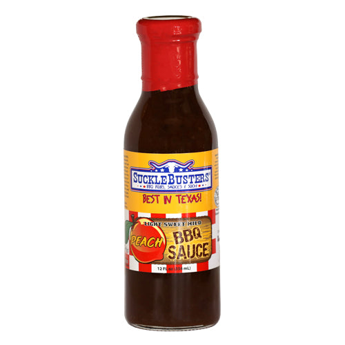 Sucklebusters Peach BBQ Sauce - Premier Grilling