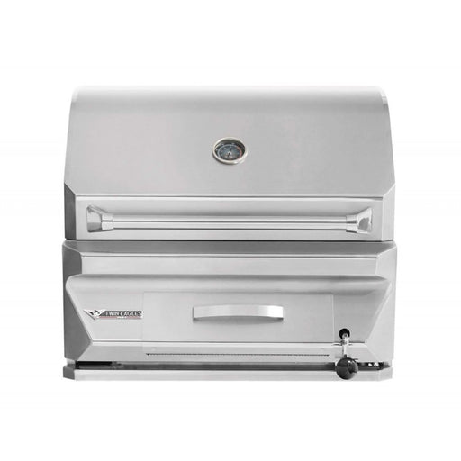 "Twin Eagles 30"" Charcoal Grill - Premier Grilling"
