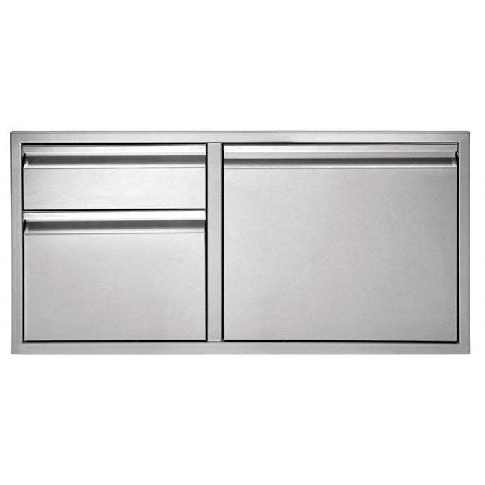 "Twin Eagles 36"" 2-Drawer-Door Combo"