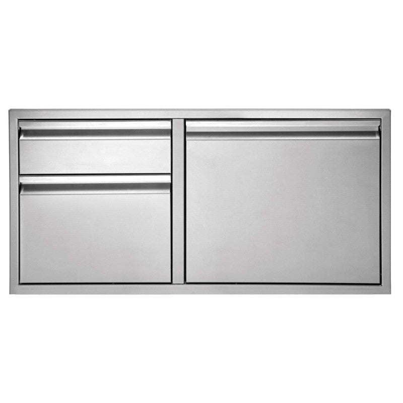 "Twin Eagles 36"" 2-Drawer-Door Combo - Premier Grilling"