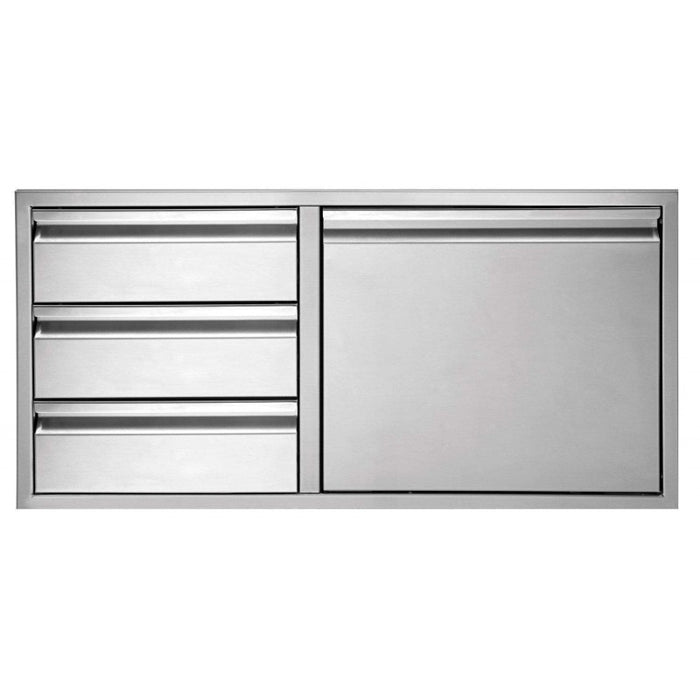 "Twin Eagles 36"" 3-Drawer-Door Combo"