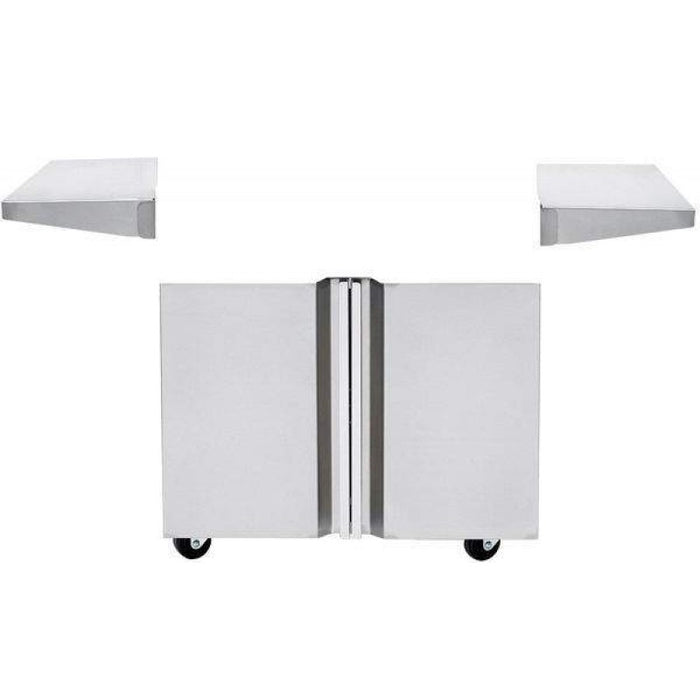 "Twin Eagles 36"" Grill Base, Double Doors - Premier Grilling"