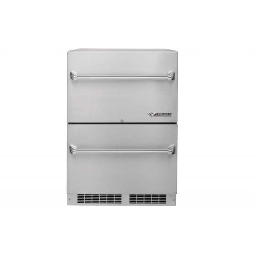 "Twin Eagles 24"" Outdoor Refrigerator, Two Drawer Refrigerator"