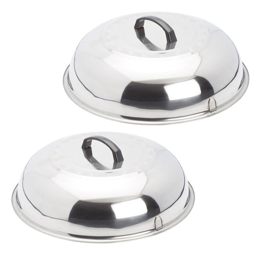 Evo 2 Piece Stainless Steel Steamer/Cooking Covers