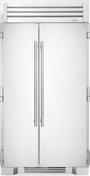 "True Residential 42"" Stainless Steel Side-By-Side Refrigerator/Freezer - Premier Grilling"
