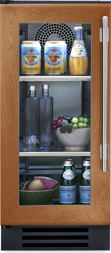 True Residential Undercounter Refrigerator w/ Glass Door, 2 Glass Shelves - Premier Grilling