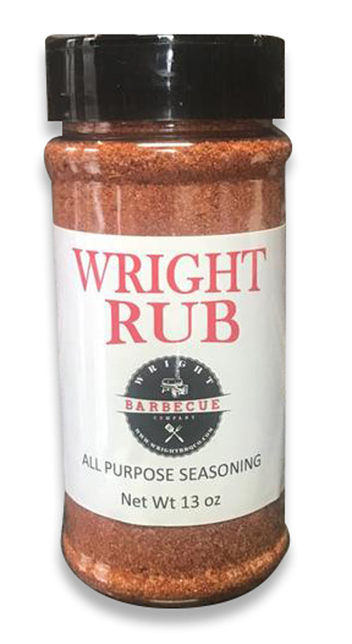 Wright BBQ All-Purpose Rub 13oz. - Premier Grilling
