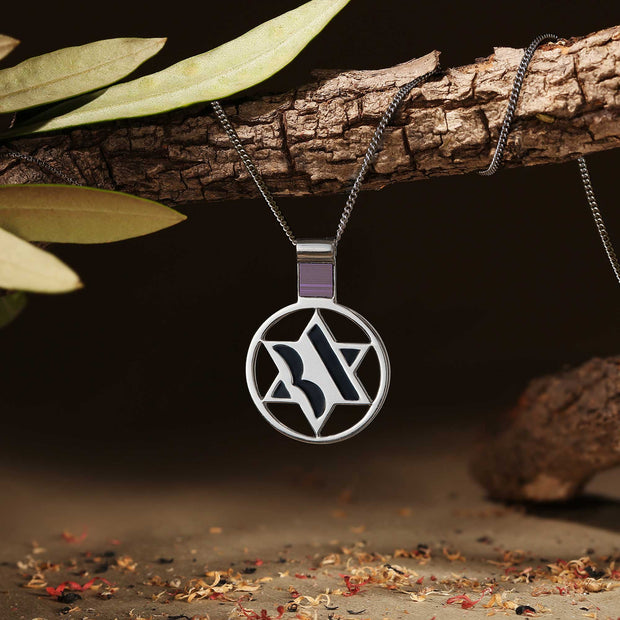 Circle Nano Bible necklace