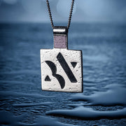 Square Nano Bible necklace