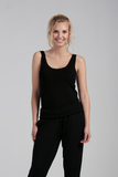 Organic Womens Tanks-Essentials-Bamboo Clothing-Eco Friendly-LNBF USA