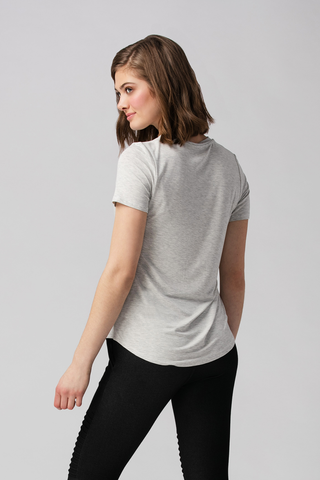 Womens Tee-Essentials-Bamboo Clothing-Organic-Eco Friendly-LNBF USA