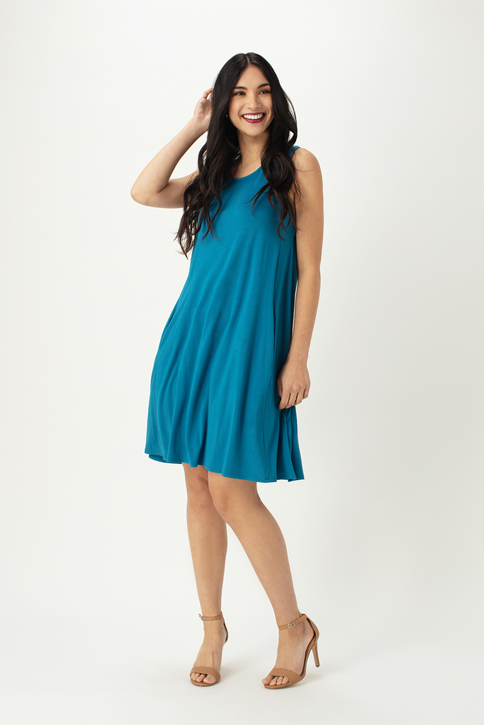 Lilly A-line Tank Dress