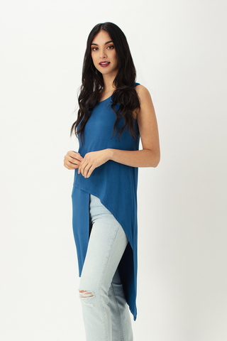 Cece Asymmetric Long Tunic