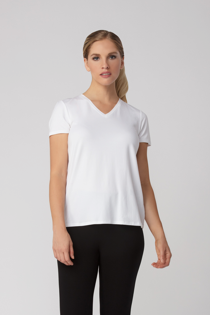 Organic Womens Tees-Essentials-Bamboo Clothing-Eco Friendly-LNBF USA