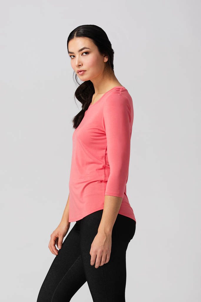 Womens tshirts-Essentials-Bamboo Clothing-Organic-Eco Friendly-LNBF-USA