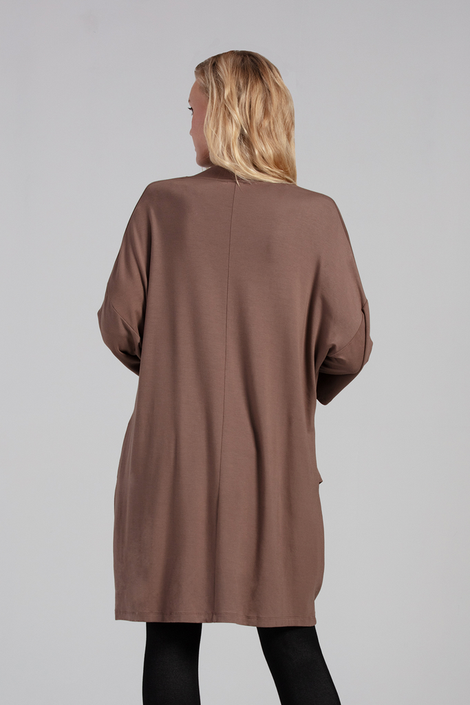 Organic Womens Cardigans-Long Sleeves-Sweaters-Essentials-Bamboo Clothing-Eco Friendly-LNBF USA