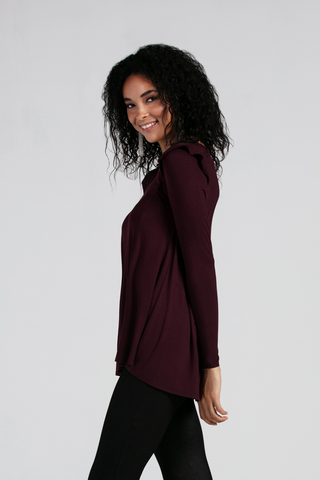Eliza Ruffle Long Sleeve