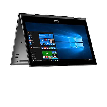 "Dell Inspiron 13 Touchscreen Core i3-7100U Dual-Core 2.4GHz 4GB 1TB 13.3"" FHD Convertible Notebook W10H w/Cam & BT - B"