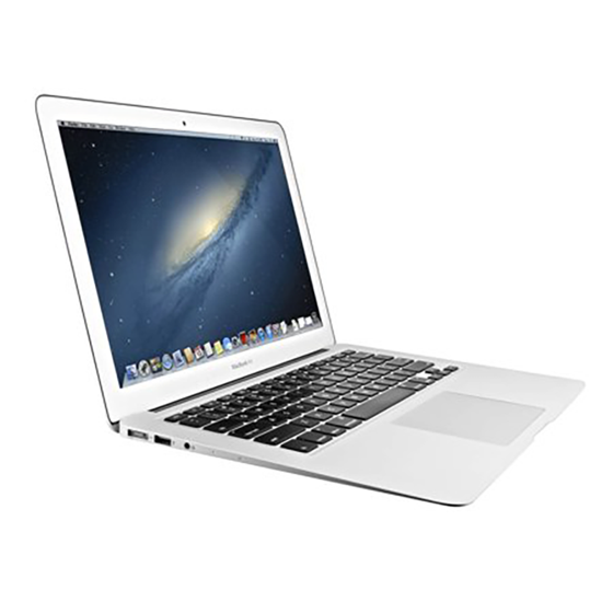 "Used Apple MacBook Air MD232LLA Core i5-3427U Dual-Core 1.8GHz 4GB 256GB SSD 13.3"" Notebook w/French Canadian Keyboard (Mid 2012)"