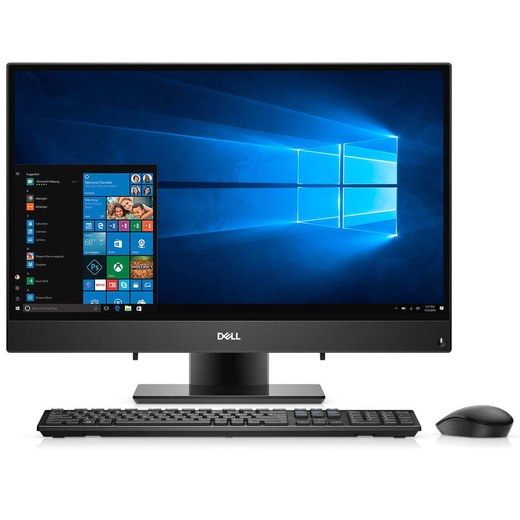 "Dell Inspiron 3477 23.8"" 1080p Touchscreen Core i7-7500U 12GB 1TB/W10H Quad-Core 2.7GHz All-in-One PC"
