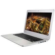 "Used Toshiba CB30-A3120 Celeron 2955U Dual-Core 1.4GHz 8GB 16GB SSD 13.3"" LED Chromebook (Silver)"
