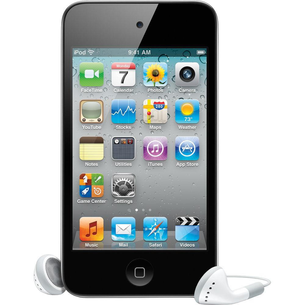 Used  iPod Touch 4th Generation 8 GB Black MC540LL/A 90 Days Warranty