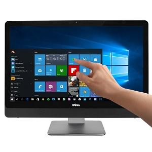 "Dell Inspiron 24-3464 23.8"" 1080p Touchscreen Core i5-7200U Dual-Core 2.5GHz All-in-One PC 8GB 1TB DVD±RW/W10H/Cam"