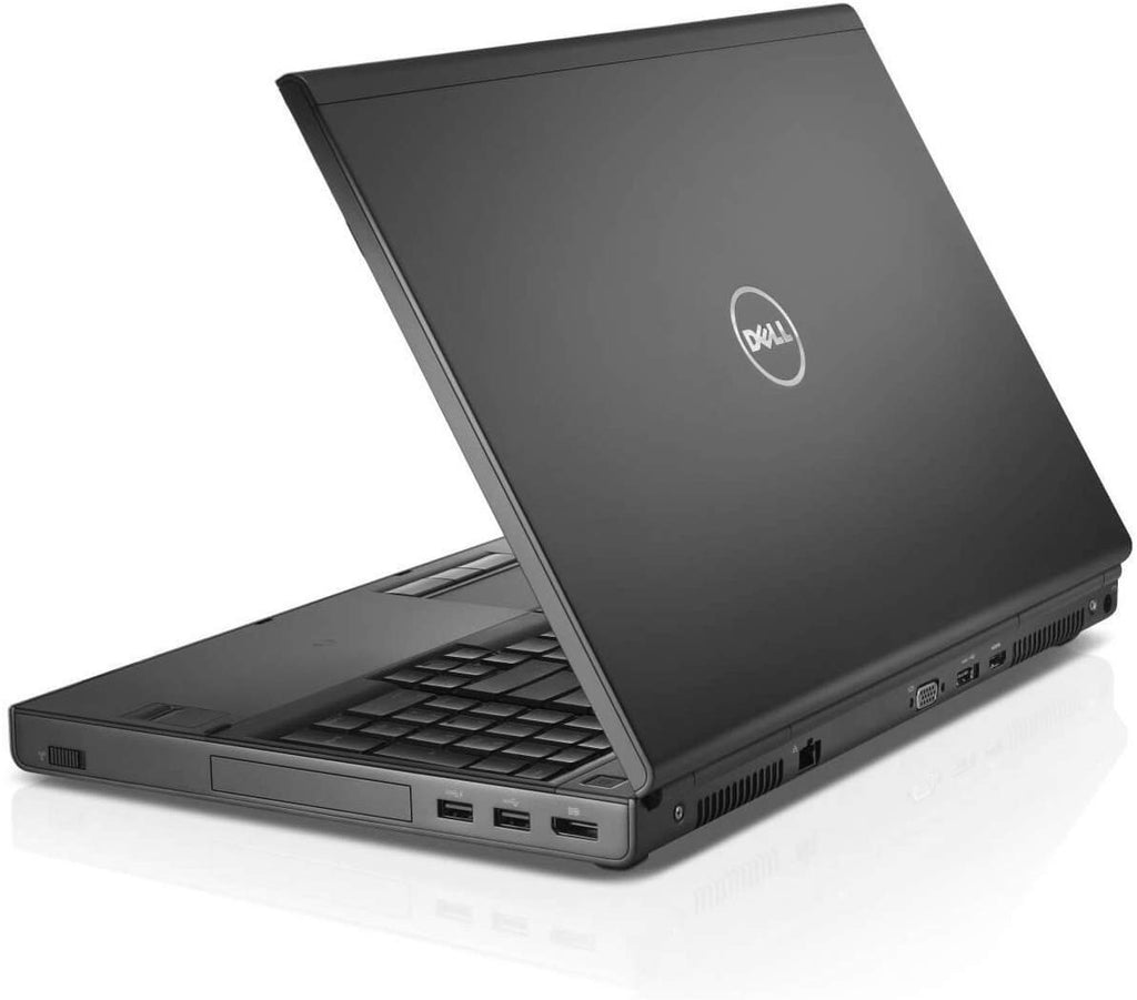 "Dell Precision M4800 Mobile Workstation Core i7-4900MQ 16GB 500GB 15.6"" W8P (Gray Skin) Warranty 90 days"