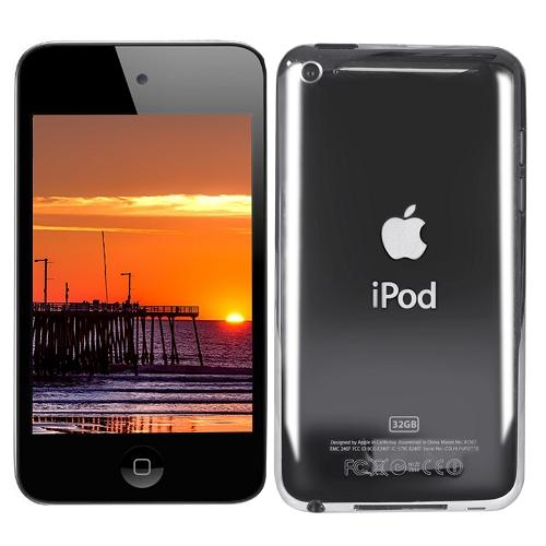 Used like New Apple iPod touch 32GB - Black (4th generation) include  Logitech S125i Portable Speaker Kit (Black)