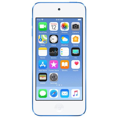 Used like New Apple iPod touch 32GB MKHV2LLA - Blue (6th generation) Warranty 90 days