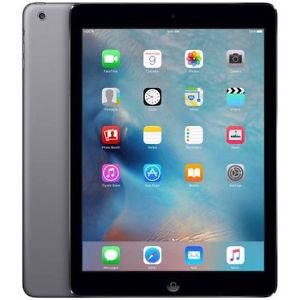 Apple iPad Air with Wi-Fi Retina Multi-Touch Tablet 64GB  Space Gray (Etching)