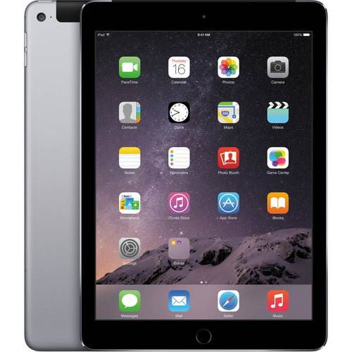 Apple iPad Air with Wi-Fi Retina Multi-Touch Tablet 16GB -Space Gray (Etching)