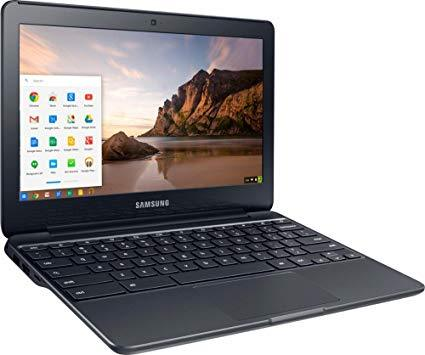 "Samsung Chromebook 3 Celeron N3060 Dual-Core 1.6GHz 4GB 16GB eMMC 11.6"" LED Chromebook  (Black)"